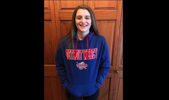 Reese Ruhlman Commits to University of Detroit Mercy